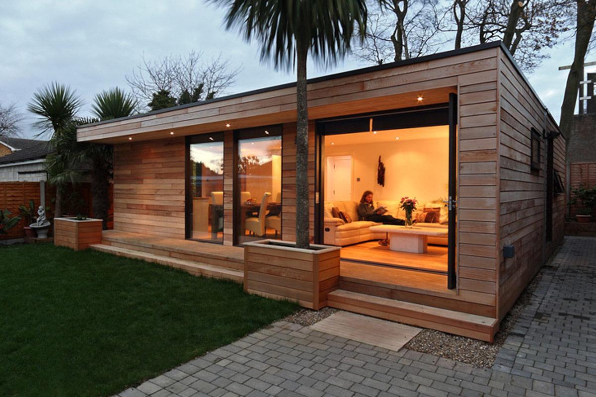 garden studio as a snug
