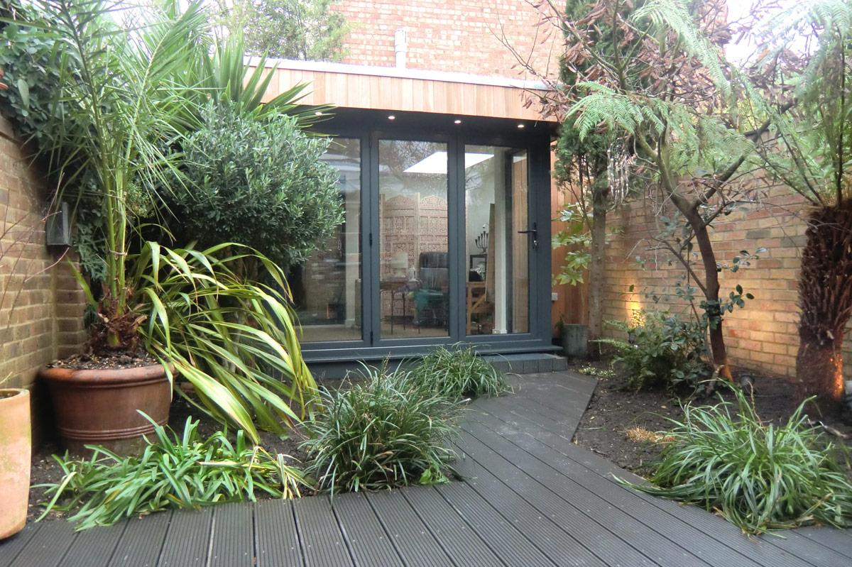 garden studio hidden corner